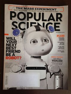 Popular Science Magazine The Mars Experiment, Stephen Hawking, November 2014