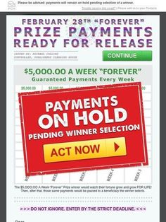 Milled is a search engine for email newsletters. Find sales, deals, coupons, and discount codes from retailers and brands. I RRojas now claim my ownership to release my prize payments now today. Lotto Winning Numbers, 2019 Ford Explorer, Investing Apps, Instant Win Sweepstakes, Win For Life, Winner Announcement, Publisher Clearing House, How Do I Get, I Win