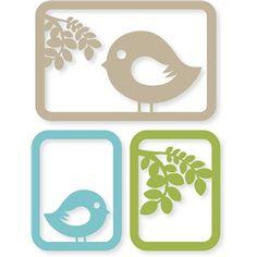 Silhouette Design Store - View Design #29852: birdie branch card