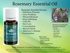 Rosemary Essential Oil   Anybody interested in purchasing the oils or products or learning more about Young Living can email me at siegel_m@bellsouth.net. I would be more than happy to help!  Main website www.youngliving.com Or check out the products and order at   https://www.youngliving.com/signup/?site=US=1483454=1483454