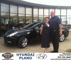 #HappyAnniversary to Laurie-Beth  Little on your 2013 #Hyundai #Sonata from Tony Shortino at Huffines Hyundai Plano!
