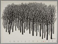 Ben Shahn, Christmas 1963, Harvard Art Museums/Fogg Museum