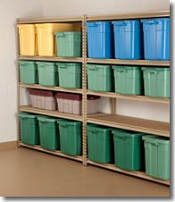 Organize your garage in one weekend with these 3 steps. Oh, I wish my garage looked like that!