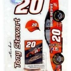 Nascar 20 Tony Stewart 5 Stickers