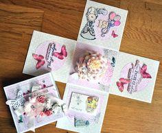 Kasia tworzy: kartki, albumy i inne rękodzieło: exploding box