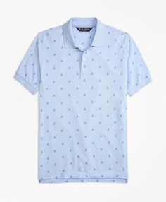 Elevate casual style with men's polo shirts and tees from Brooks Brothers, available in both short and long sleeve designs. Printed Polo Shirts, Sleeve Designs, Brooks Brothers, Toddler Outfits, Sailboat, Oxford, Mens Fashion, Tees, Casual