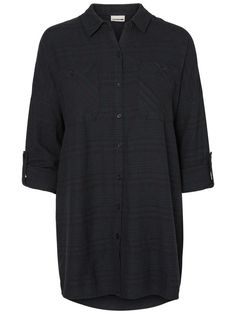 Always love an oversized shirt. Style this from Noisy may with sweats or loose trousers.