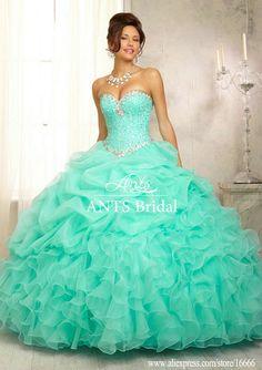 Pretty quinceanera dresses, 15 dresses, and vestidos de quinceanera. We have turquoise quinceanera dresses, pink 15 dresses, and custom quince dresses! Ball Gown Dresses, Satin Dresses, 15 Dresses, Organza Dress, Aqua Dresses, Cheap Dresses, Pink Dress, Turquoise Dress, Dresses Online