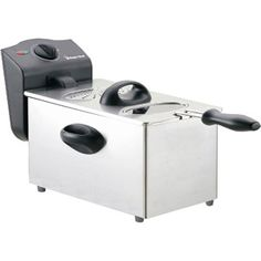 Magic Chef 15 Cup Deep Fryer with Removable Inner Pot and Adjustable Temperature Control