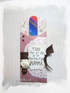 Morsdagsgave - en lekker liten folder som inneholder en neglefil, ca.13cm