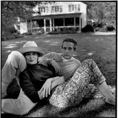 "Joanne Woodward & Paul Newman. When asked why he had never cheated on Woodward, Newman replied ""Why fool around with hamburger when you have steak at home?"""