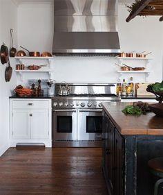 rustic industrial kitchen