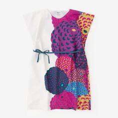Rectangle Dress Dahlia Muslin Wool : SOU • SOU US Online Store