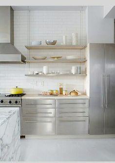 18 kreativa förslag på öppen förvaring i köket - Sköna hem