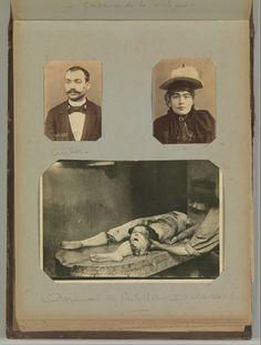A.Bertillon, utilisation de la photographie comme outil durant des enquêtes policières