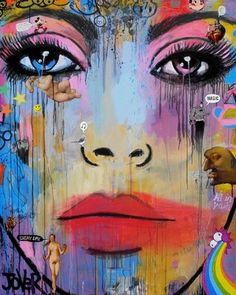 """Saatchi Online Artist Loui Jover; Painting, """"everyday magic (canvas)"""" #art/. As CREATIVE as it gets!Love it!"""