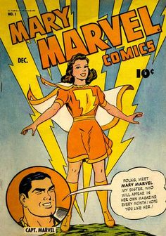 Cover for Mary Marvel (1945 series) #1