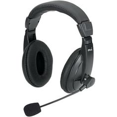 Micro Innovations Full-size Stereo Headset With Padded Ear Cups (pack of 1 Ea)