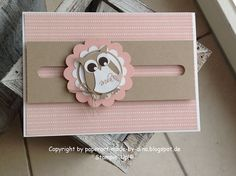 DIY Beautiful Card owl