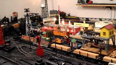 american flyer train layouts - Google Search