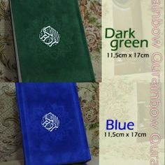 Al-Quran Rainbow 11,5X17cm avail Dark Green, Blue @ 160 K GRAB IT FAST :D