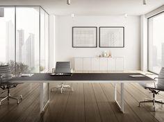 会议桌 会议桌 45/90系列 by IFT 设计师Roberto Garbugli