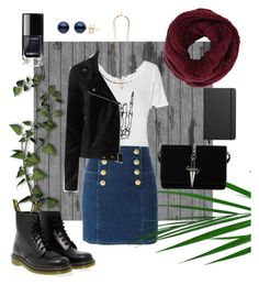"""Stranger suburbs"" by niavmealone on Polyvore featuring Dr. Martens, BCBGMAXAZRIA, Balmain, Paige Denim, Givenchy, Shinola and Cesare Paciotti"