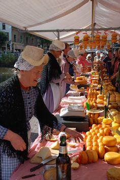 Cheese Market - Alkmaar, The Netherlands