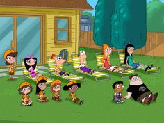 pics of phineas and ferb   Phineas and Ferb Characters Wallpaper - Phineas and…
