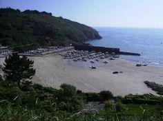 Bréhec port et plage Plouha