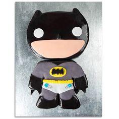 Nanananananana BATCAKE! Baby Batman baby shower cake