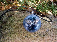 Transformational Butterfly Orgone Energy Pendant by TwoChez, $22.00