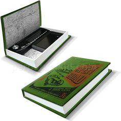 Secret Car Storage - it looks like a book!