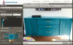 How to choose the perfect paint color - before you buy!  eclecticallyvintage.com