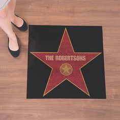 Be the star of your own walk of fame with this Personalized Movie Night Floor Decal, a cool addition to Hollywood party supplies. Backyard Movie Party, Outdoor Movie Party, Outdoor Movie Nights, Movie Night Party, Hollywood Themed Parties, Hollywood Party, Hollywood Decorations, Old School Movies, Old Hollywood Wedding
