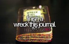 wreck this journal before and after - Google Search