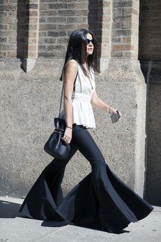 Witchery Muse: Lainy Hedaya. New York Fashion Week