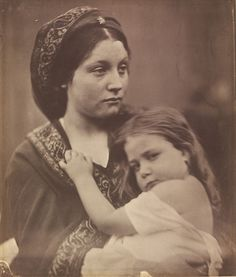 Peace by Julia Margaret Cameron, England, 1864. l Victoria and Albert Museum
