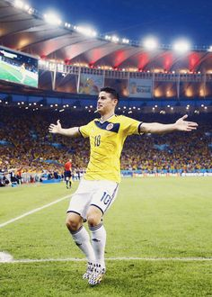 James Rodríguez, Midfielder, Colombia | Community Post: 10 More Sexy Soccer Players Playing In The Quarter Finals