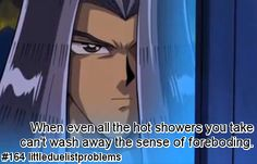 It's not always easy being a duelist. This is a blog dedicated to sharing all those little problems...