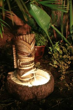 tiki fountain - Google Search