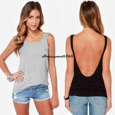 7f870d83382 2016 Women Summer Vest Top Sleeveless Shirt Blouse Casual Tank Tops T-Shirt