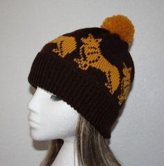 corgi crochet hat pattern | Found on wanelo.com