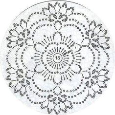 Mandala patron We are want to say thanks if you like to sh Crochet Butterfly Pattern, Crochet Motif Patterns, Crochet Lace Edging, Crochet Diagram, Irish Crochet, Crochet Doilies, Crochet Flowers, Crochet Stitches, Free Crochet