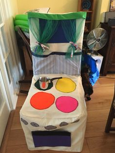 Chair cover child cooker