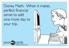 Disney Math.