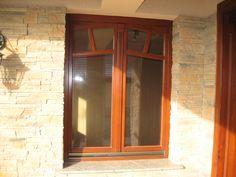 Wood windows_Wood balkony_Wood sliding doors_Exterior design_Dream home_Home building Wood Windows, Wood Doors, Balcony Doors, Sliding Doors, Furniture, Design, Home Decor, Wooden Window Boxes, Wooden Doors