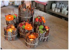 Výsledok vyhľadávania obrázkov pre dopyt bloemschikken herfst tafeldecoratie maken