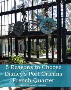 5 Reasons to Choose Disney's Port Orleans French Quarter @debwes24 they sell beignet mix