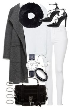 """""""Untitled #19521"""" by florencia95 ❤ liked on Polyvore featuring moda, Topshop, Zara, Tory Burch, Chamilia, Proenza Schouler, Monki y Forever 21"""